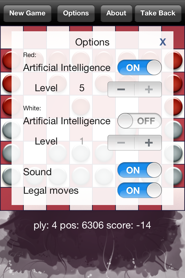 Turkish Checkers Screenshot